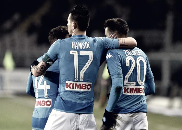 Serie A - Il Napoli schianta il Torino e torna in testa: 1-3 all'Olimpico