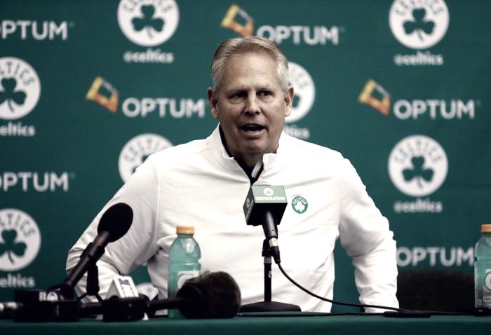 NBA - La prima scelta del draft ai Celtics: tutta la soddisfazione del presidente Ainge