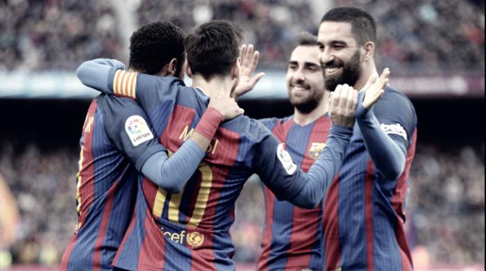 Liga - Il Barcellona schianta l'Athletic Bilbao: 3-0 al Camp Nou