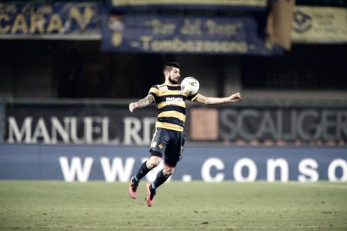 Serie B - Pisano stende l'Entella: il Verona torna primo
