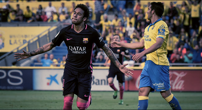 Liga - Il Barcellona regola il Las Palmas: 1-4 al Gran Canaria