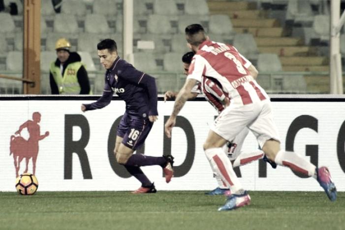 Serie A - La Fiorentina batte in rimonta il Pescara: 1-2 all'Adriatico