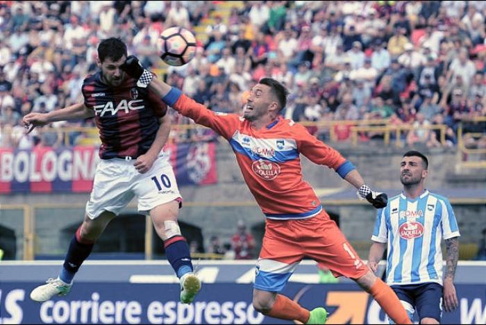 Serie A - Destro e Di Francesco stendono il Pescara: vince il Bologna 3-1