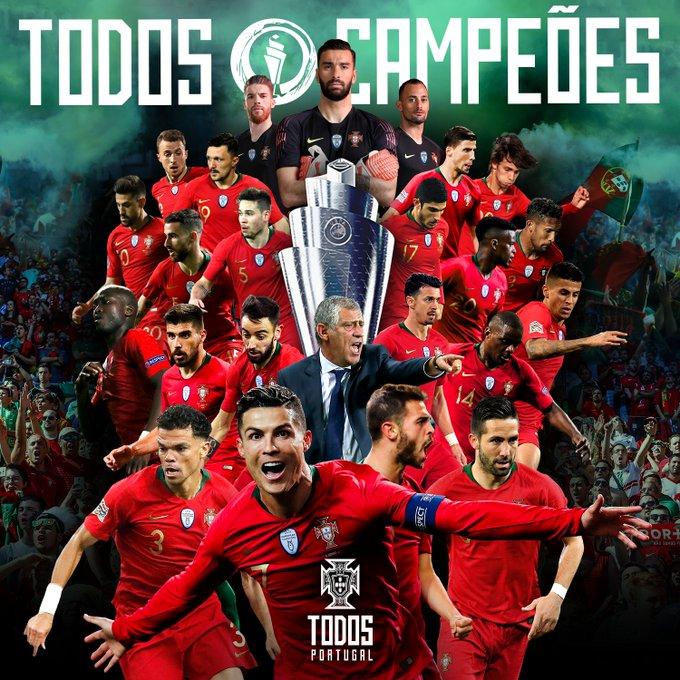 Nations League: un gol di Guedes basta per laureare il Portogallo campione