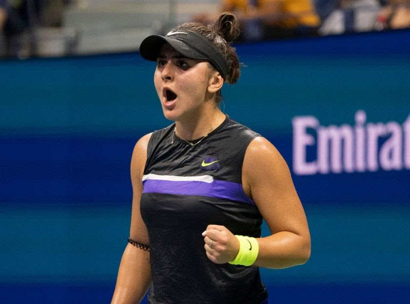 US Open: Bianca Andreescu edges Belinda Bencic to reach final