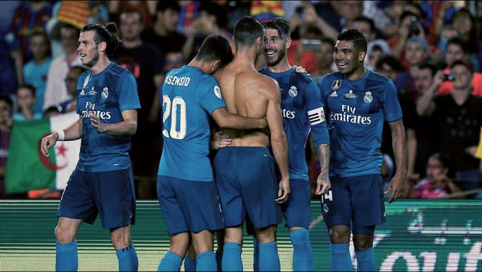 Supercoppa Spagnola - Troppo Real Madrid per il Barcellona: 1-3 al Camp Nou