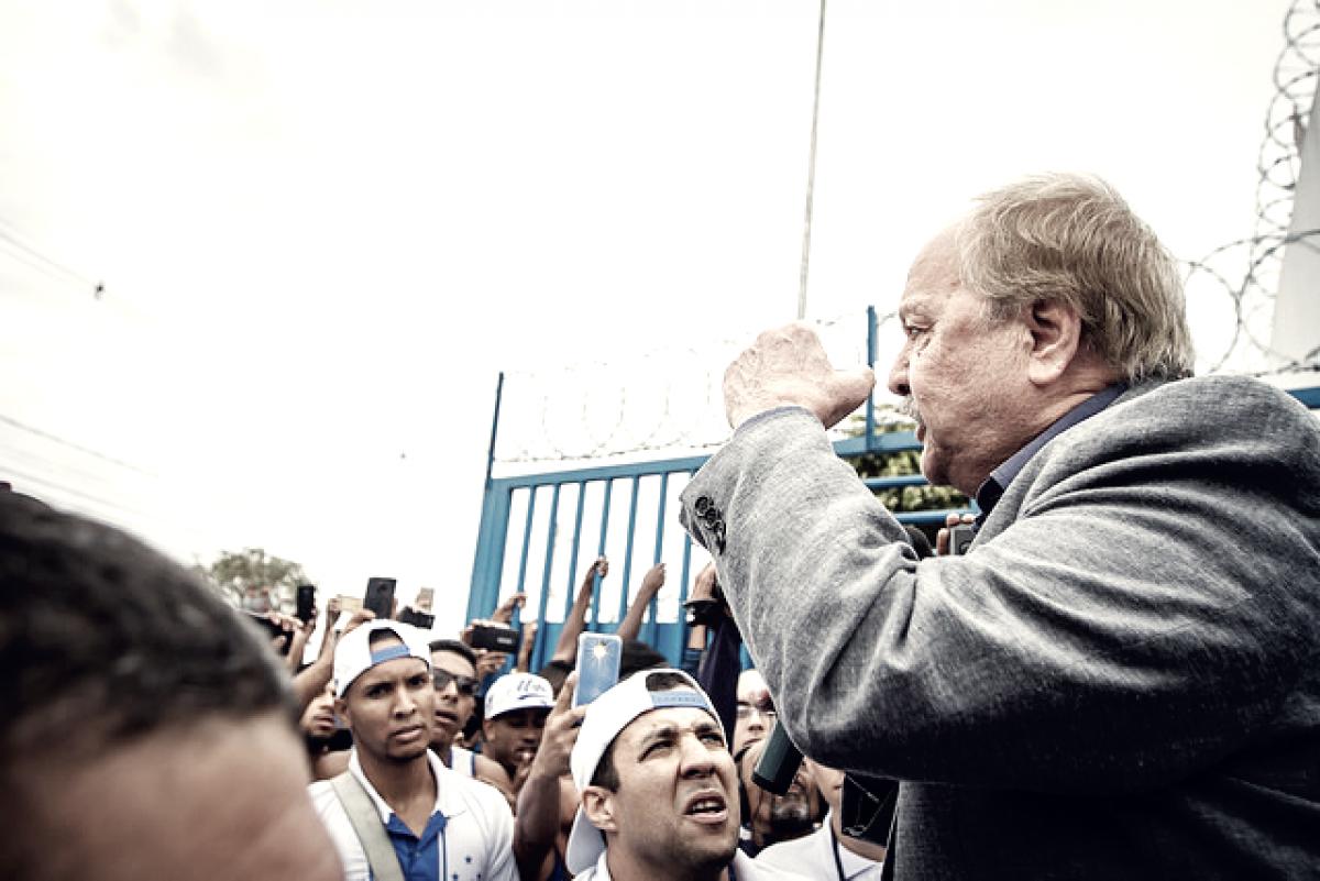 """Presidente do Cruzeiro, Wagner Pires de Sá exalta classificação da Libertadores: """"Estou em êxtase"""""""