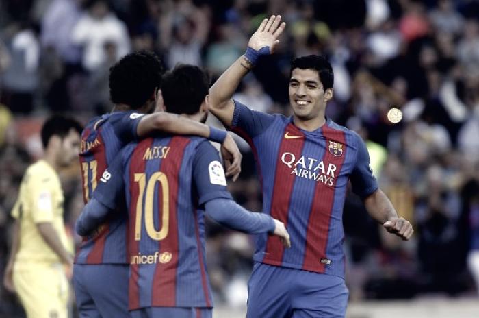Liga - Il Barcellona schianta il Villarreal: 4-1 al Camp Nou