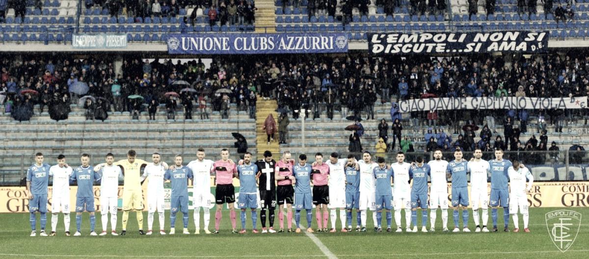 Serie B - L'Empoli batte l'Entella e torna al primo posto: 2-1 al Castellani