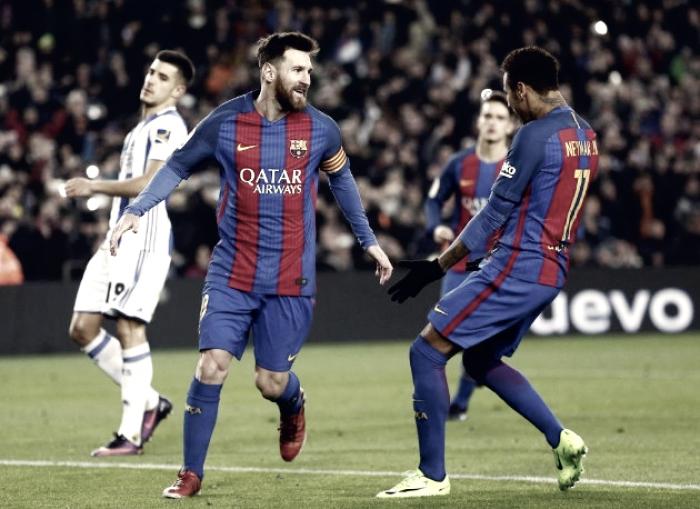 Coppa del Re - Il Barcellona vola in semifinale: 5-2 alla Real Sociedad