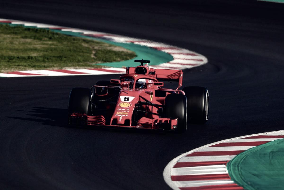 Test Formula 1 - Vettel chiude in testa, Hamilton quarto