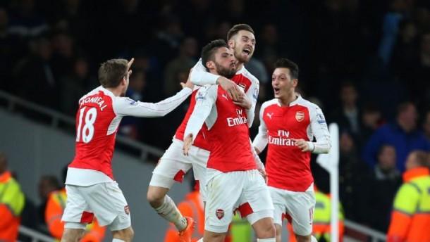 L'Arsenal stellare sente la forza