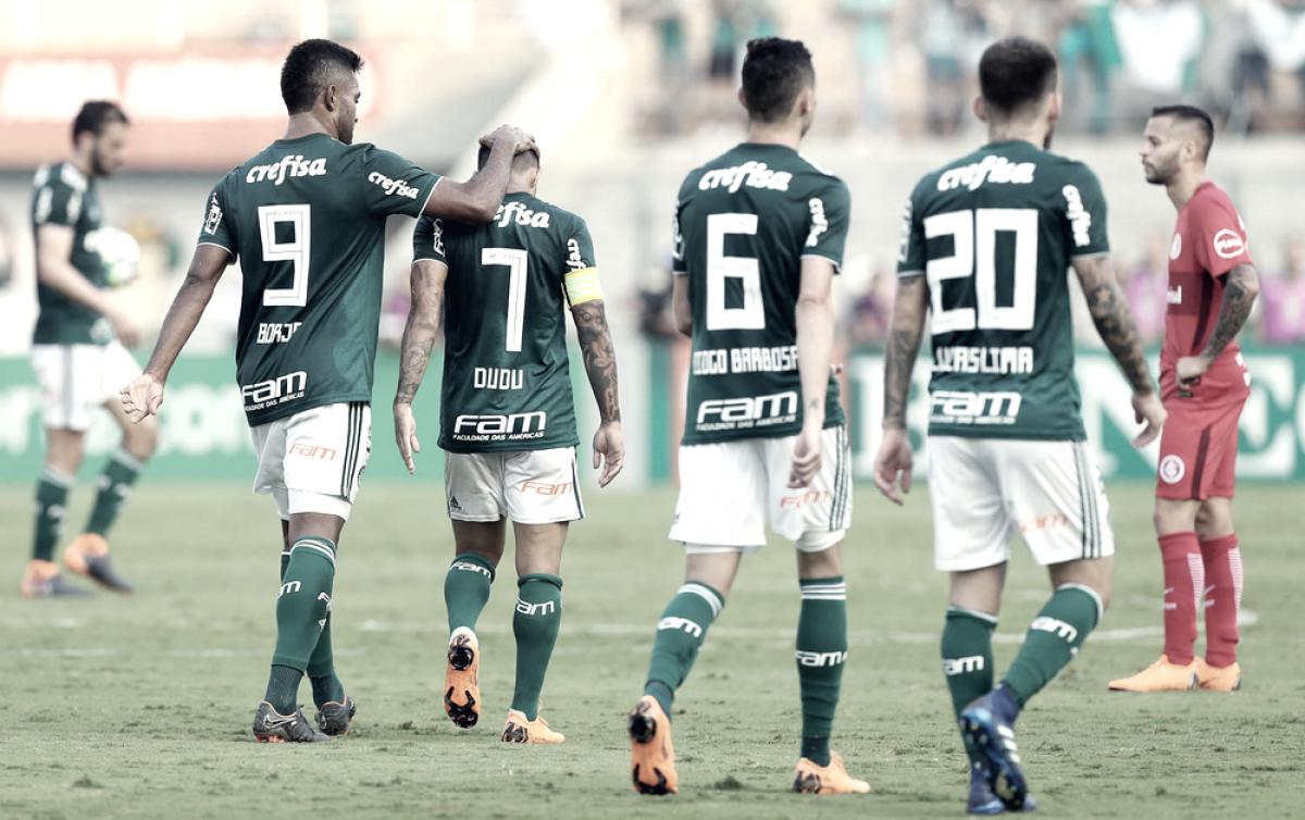 Notas: dupla de zaga é destaque na vitória do Palmeiras sobre Internacional