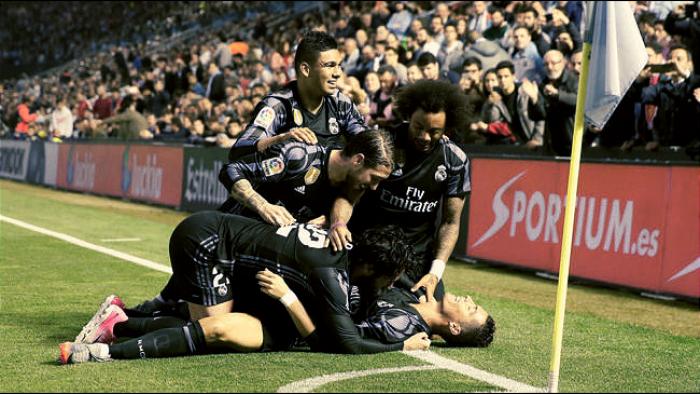 Liga - Il Real Madrid è a un passo dal titolo: battuto il Celta Vigo 1-4