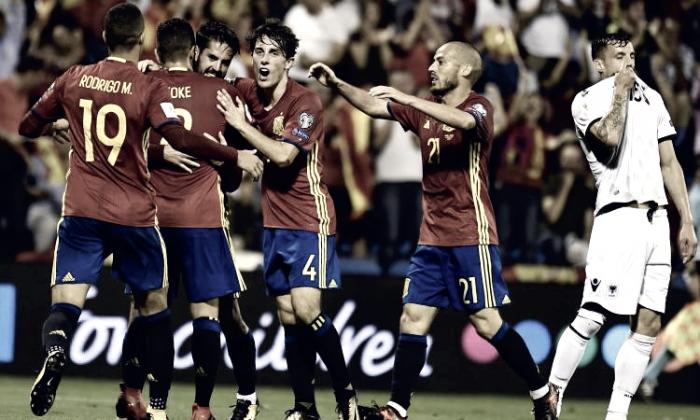 Verso Russia 2018 - La Spagna stacca il pass per il Mondiale: battuta 3-0 l'Albania