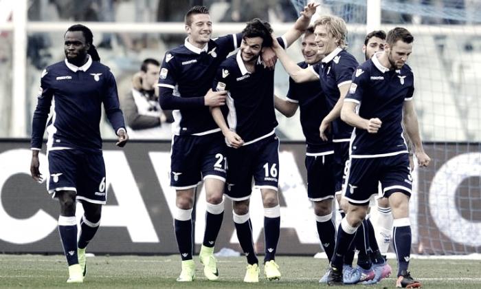 Serie A - La Lazio disintegra il Pescara: 2-6 all'Adriatico