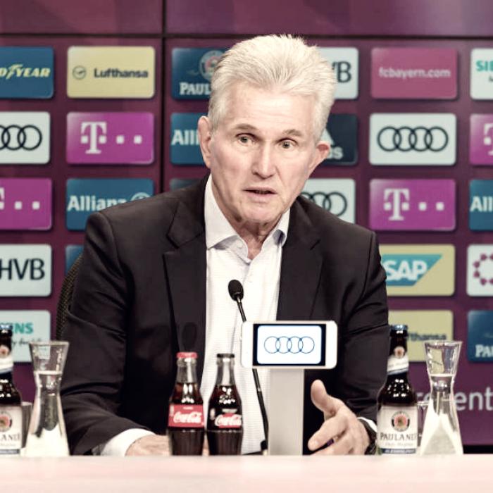 "Após virada e goleada, Jupp Heynckes exalta torcida do Bayern: ""Deu grande apoio"""