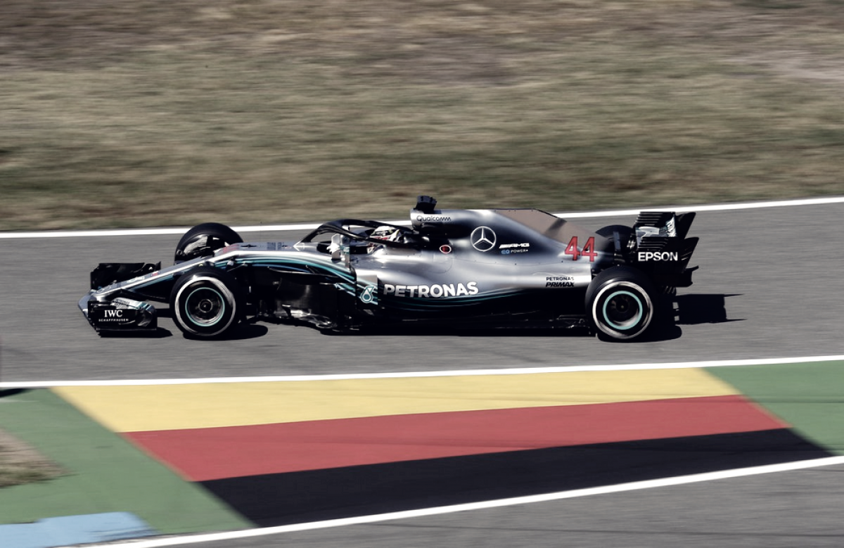 Gp Germania, Hamilton: