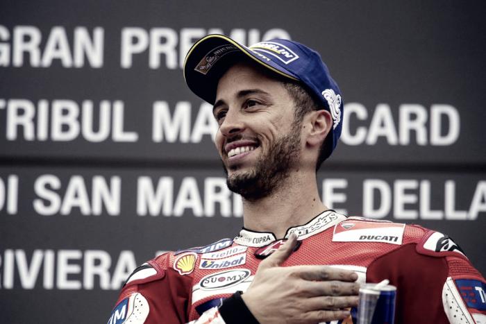 """Dovizioso: """"Quando penso al 2017 mi emoziono, Rossi è un grande in tutti i sensi"""""""
