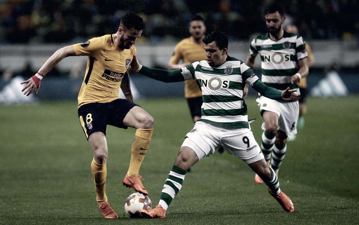 Europa League - Lo Sporting vince 1-0 ma non basta: in semifinale ci va l'Atletico Madrid