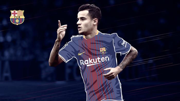 Terza Maglia FC Barcelona Coutinho