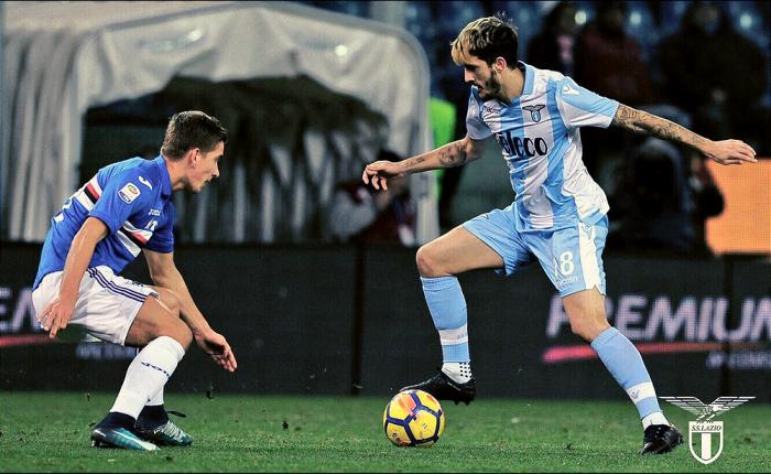 Sampdoria-Lazio 1-2: Milinkovic Savic e Caicedo rimontano Zapata
