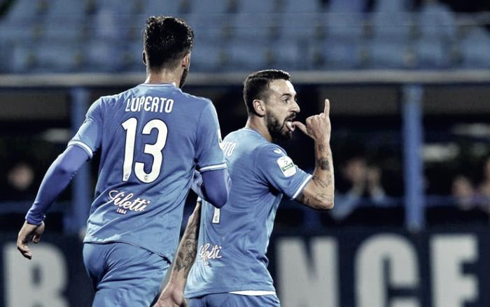 Serie B - Caputo fa cento e stende il Pescara: vince l'Empoli 3-1