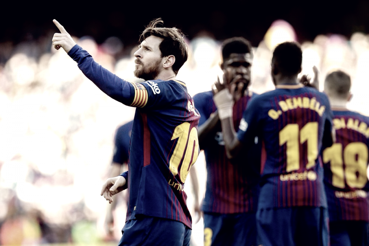 Liga - Il Barcellona allunga sull'Atletico Madrid, show di Ronaldo