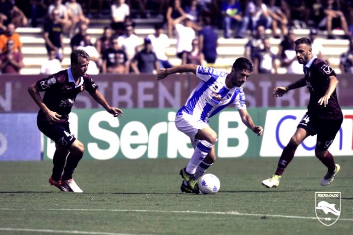 Serie B - Il Pescara si fa rimontare ancora: 2-2 con la Salernitana