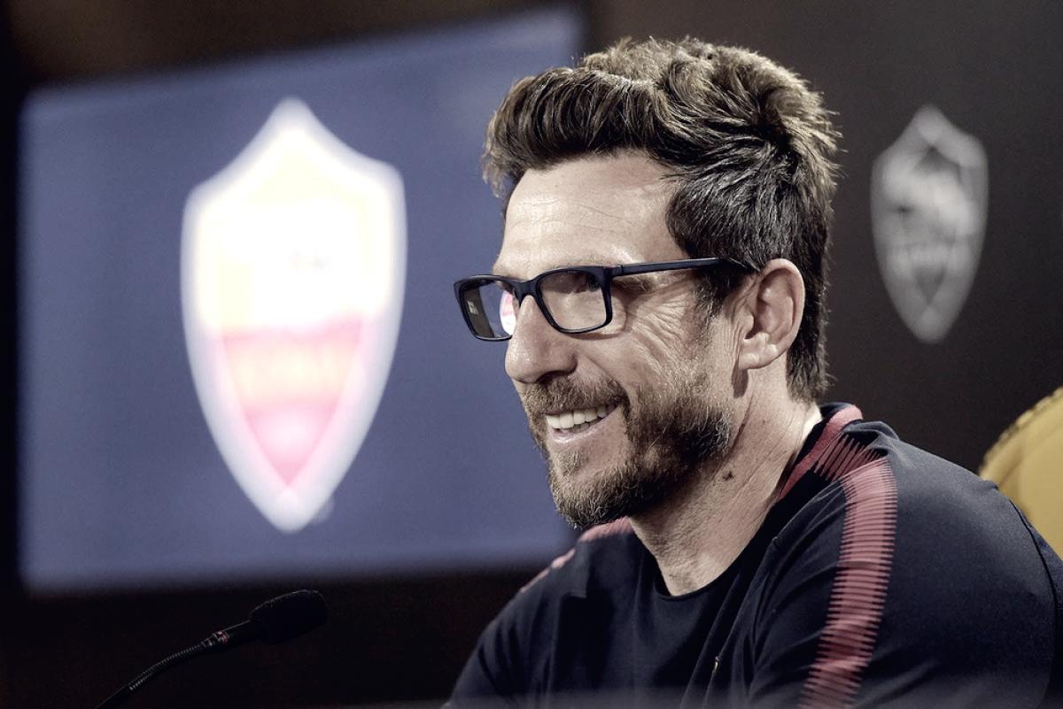 """Sassuolo-Roma 0-1, Di Francesco: """"Dobbiamo migliorare dal punto di vista mentale per diventare grandi"""""""