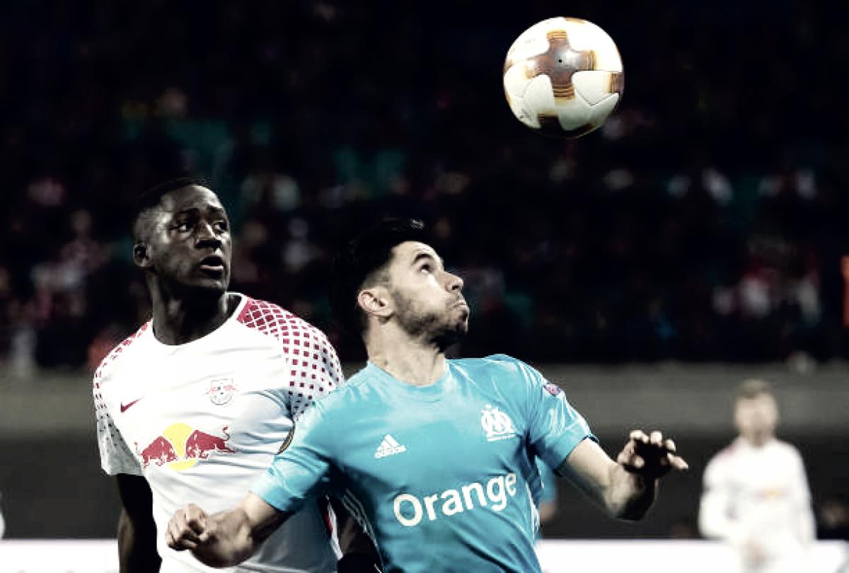 RB Leipzig luta por feito inédito contra Olympique de Marseille na Europa League