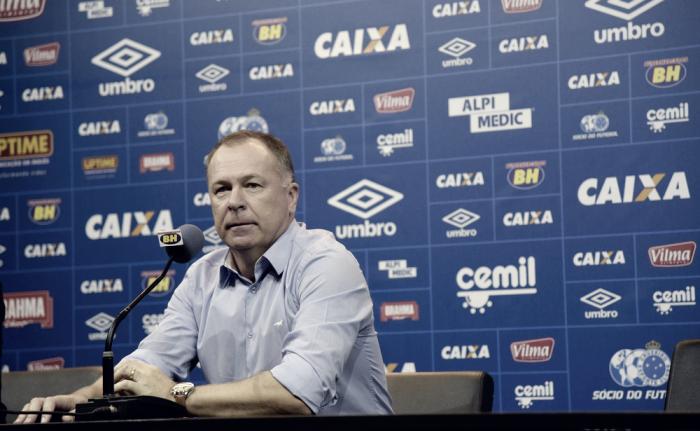 """Para Mano, elenco do Cruzeiro assimilou estilo de jogo: """"Temos uma maneira de jogar"""""""
