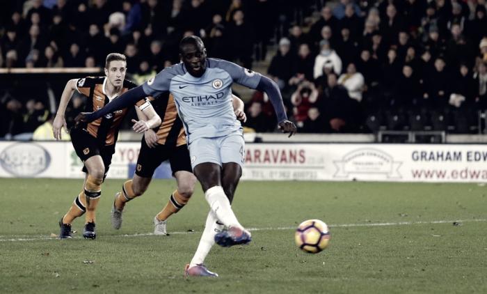 Il City soffre, poi passa: Touré e Iheanacho affondano l'Hull a domicilio