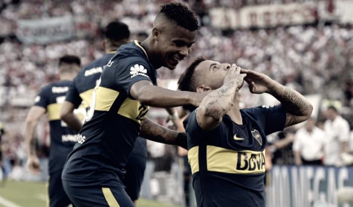 Primera Division - Il Boca Juniors sbanca il Monumental: battuto il River Plate 1-2