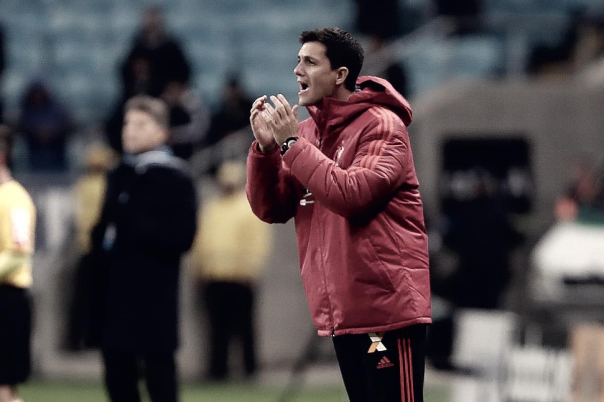 """Após empate no fim, Barbieri comemora atuação do Flamengo: """"Fizemos grande partida"""""""
