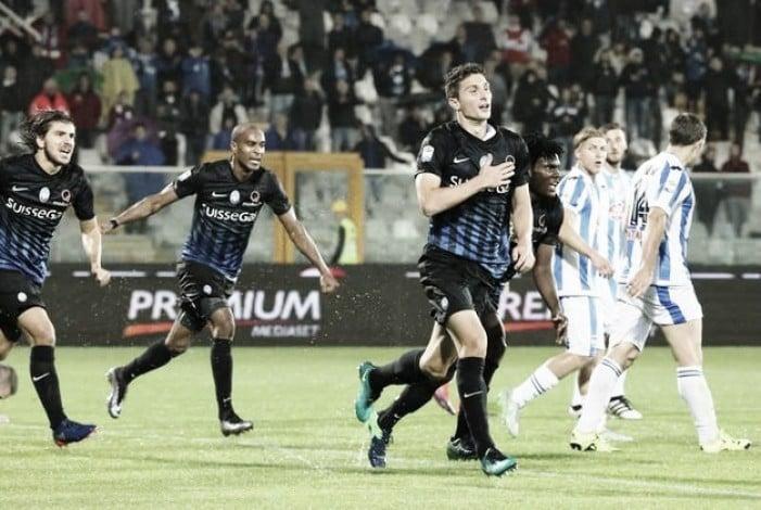 Risultato Atalanta 3-0 Pescara in Coppa Italia 2016/17