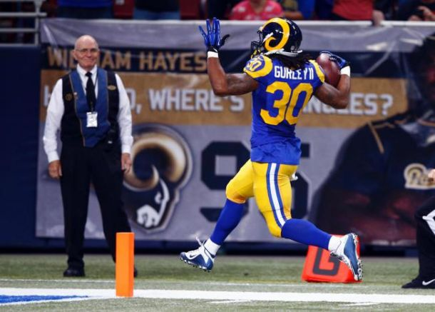Todd Gurley Named VAVEL USA Offensive Rookie Of Week 8