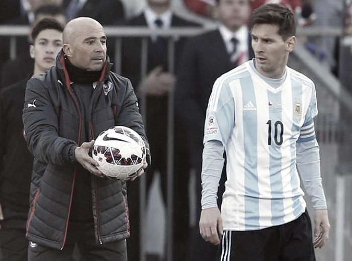"""Barcellona, senti Sampaoli: """"Sogno di allenare Messi"""""""