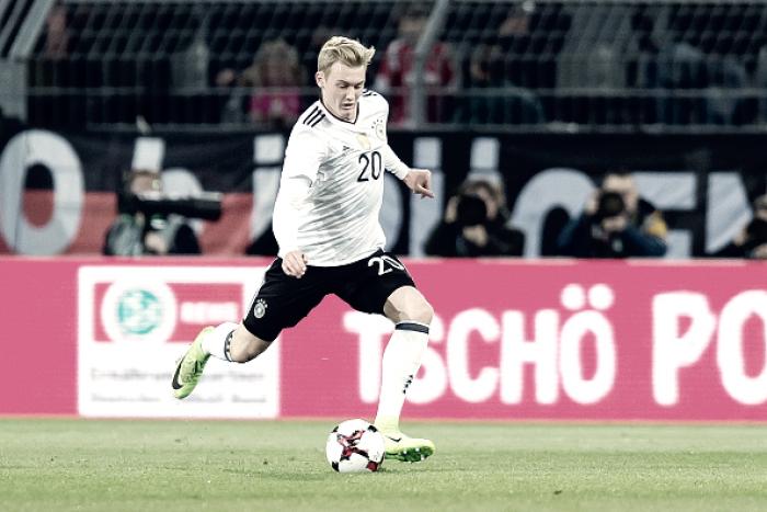 Julian Brandt: possível alternativa na Seleção Alemã para disputa do Mundial