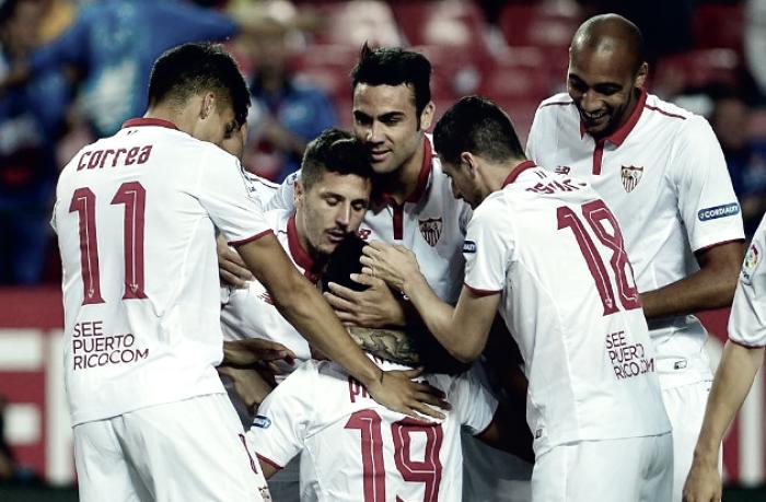 Liga - Tutto facile per il Siviglia: battuto il Granada 2-0