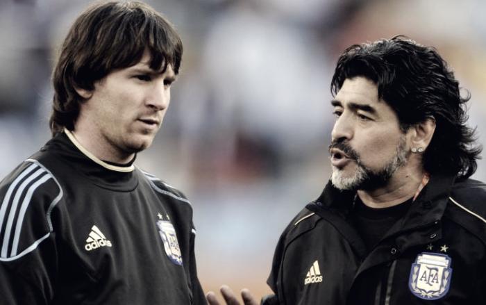 """Argentina, parla Maradona: """"Non c'entro nulla con la squalifica di Messi"""""""