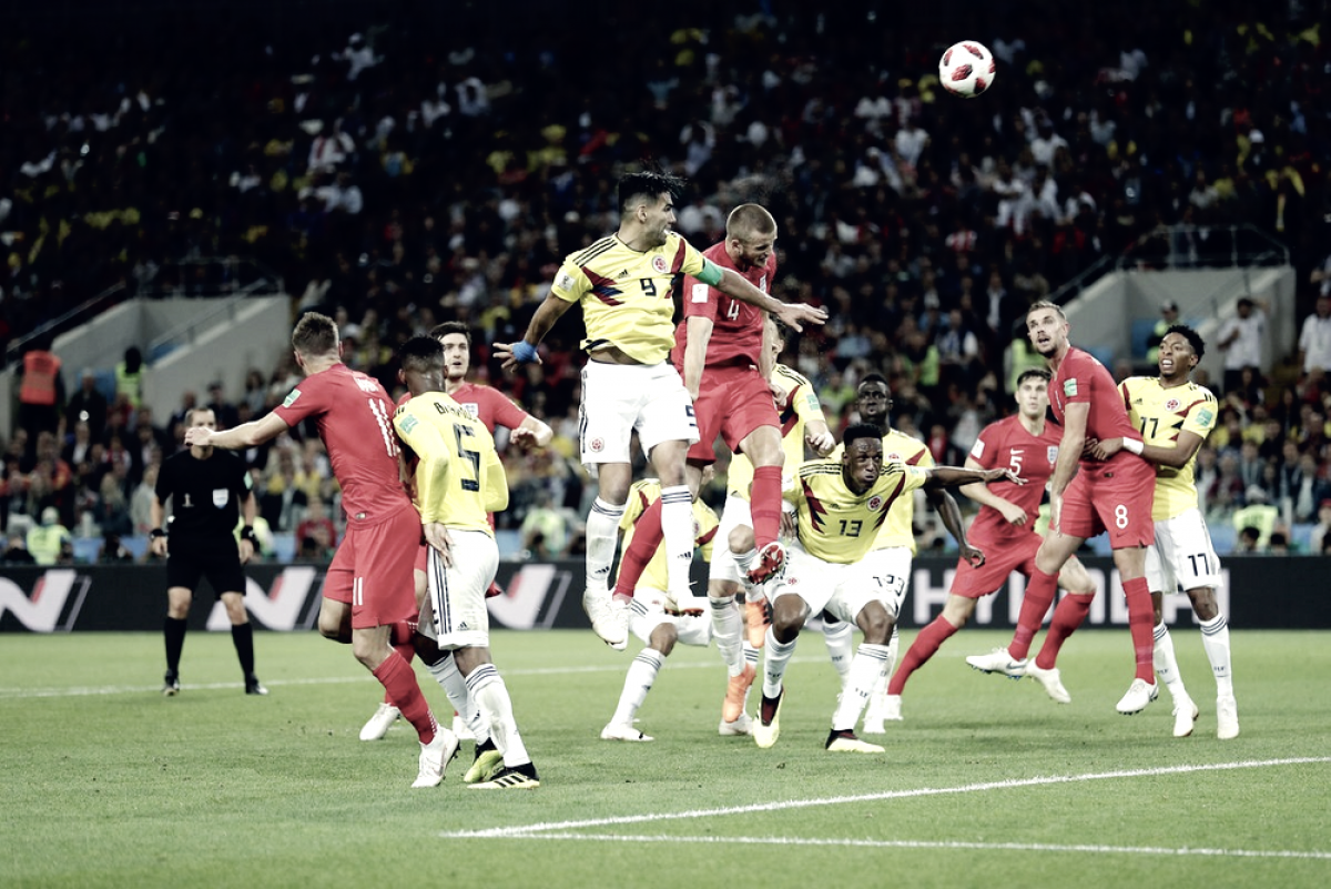 Russia 2018 - L'Inghilterra batte la Colombia ai rigori e vola ai quarti
