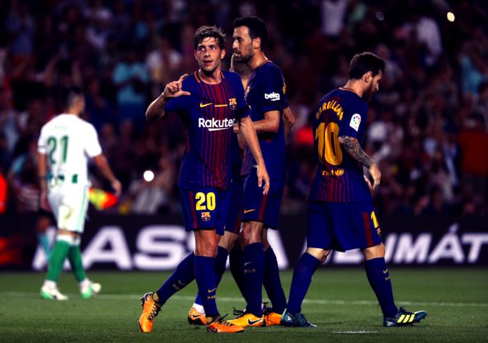 Liga - Buona la prima per il Barcellona: battuto 2-0 il Betis