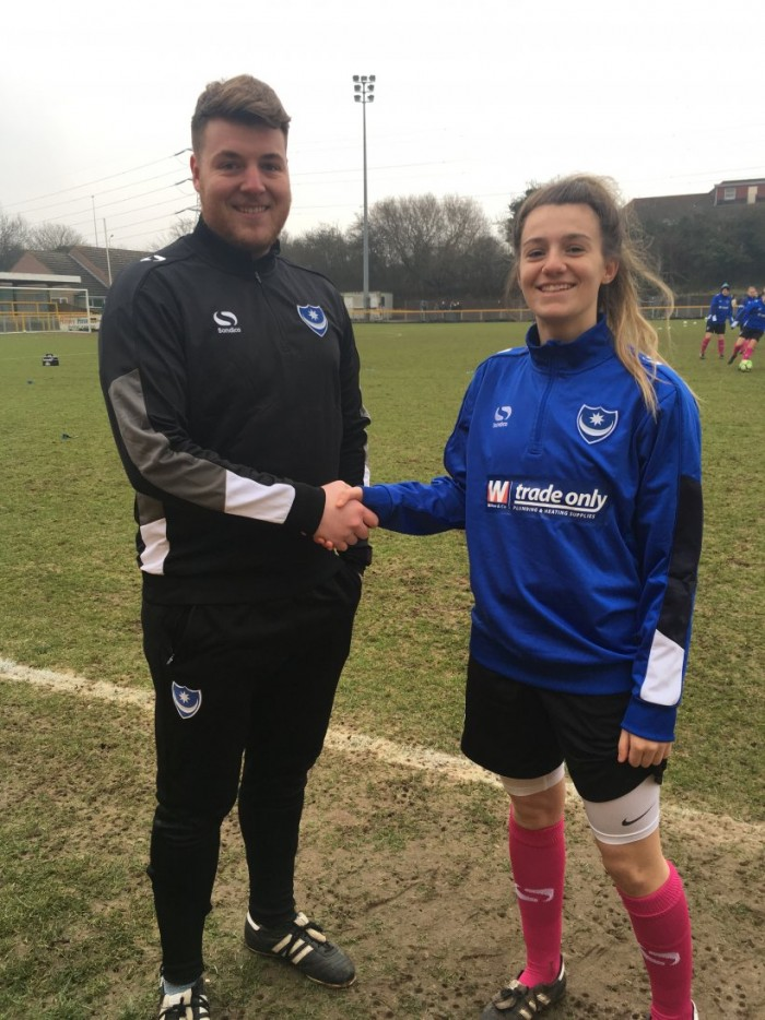 Portsmouth Ladies bring in Megan Jones from Millwall