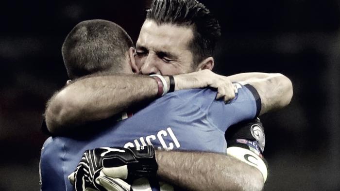 Buffon in lacrime lascia la Nazionale: