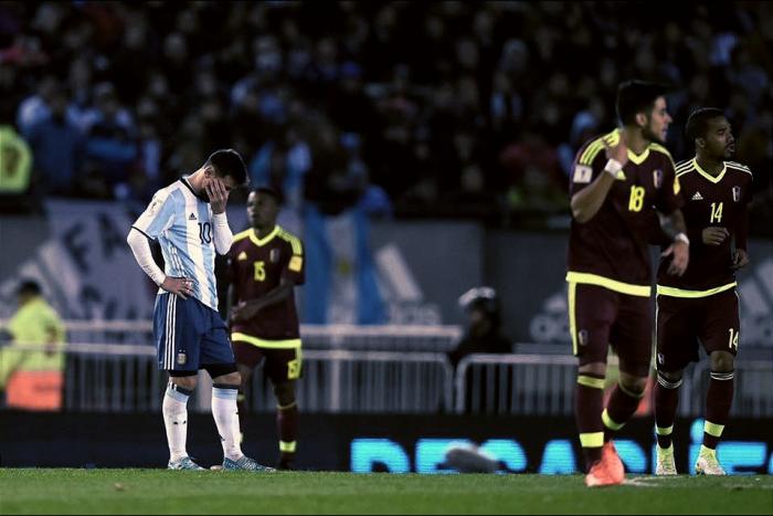 Verso Russia 2018 - L'Argentina pareggia col Venezuela ed ora rischia: 1-1 al Monumental
