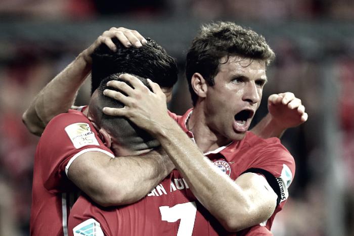 """Müller destaca elenco do Bayern de Munique: """"Equipe está lá quando precisa"""""""