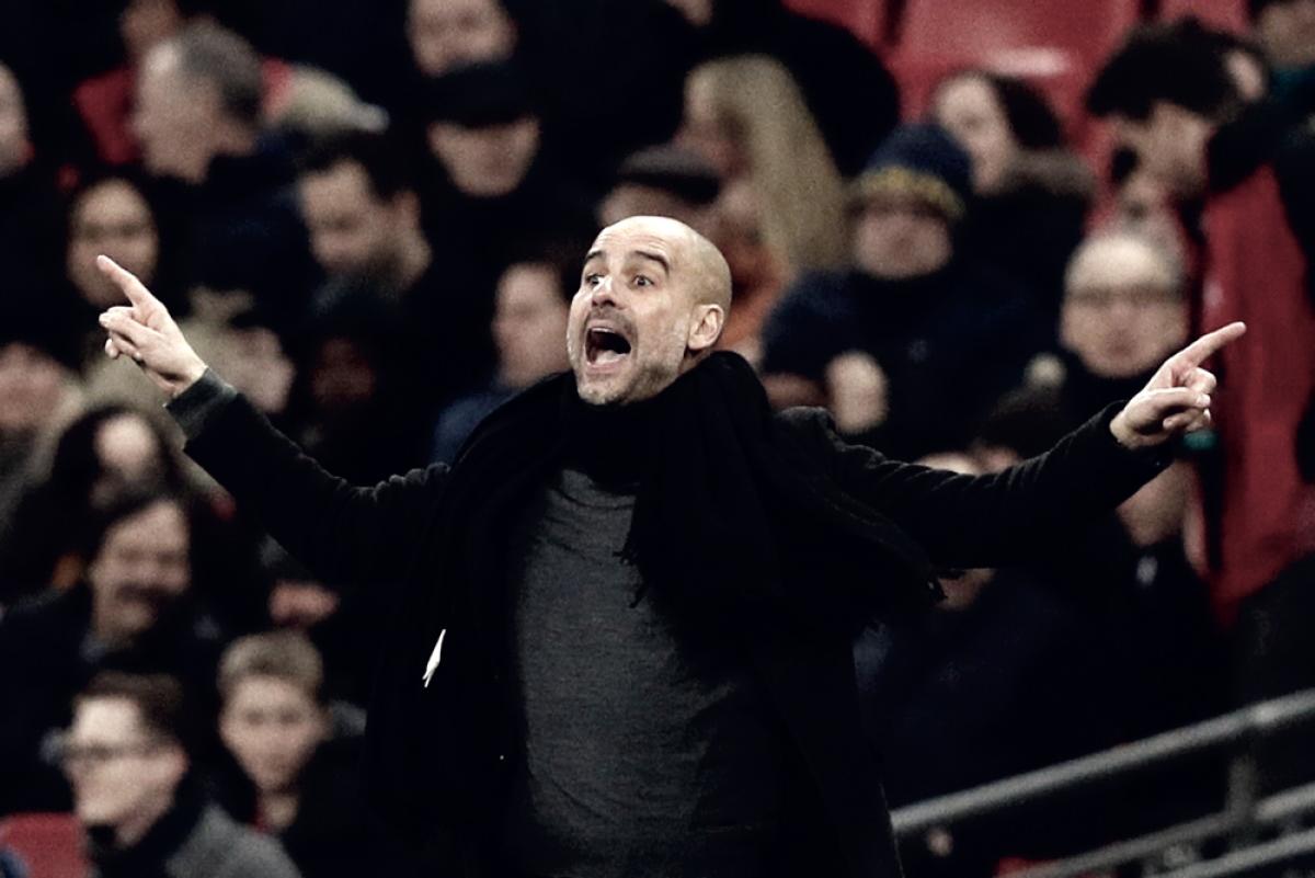 """Guardiola: """"Sarri? Spero di incontrarlo in Premier League"""""""