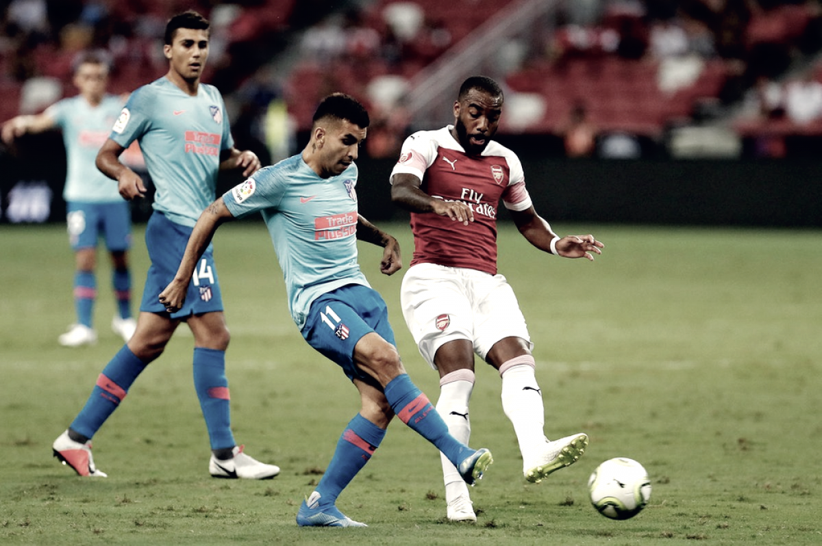 ICC - Rowe risponde a Vietto: 1-1 tra Atletico Madrid e Arsenal