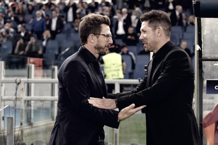 Champions League, Roma-Atletico Madrid: le parole di Di Francesco nel post partita
